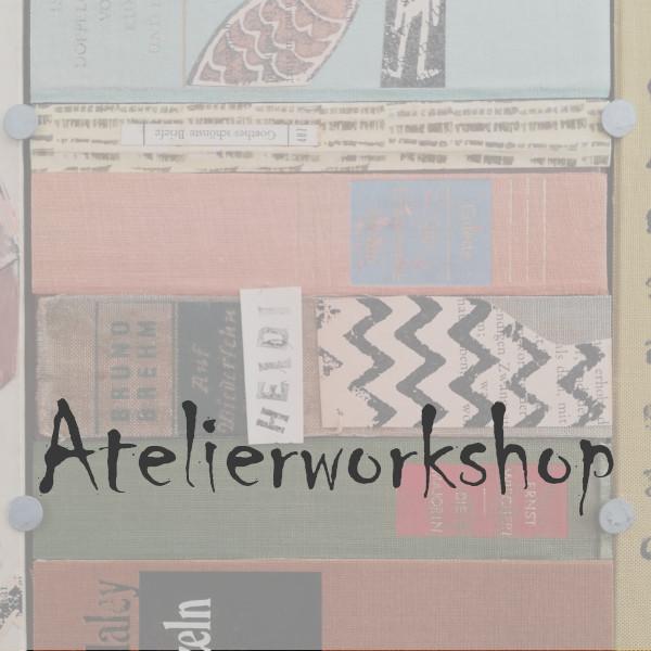 Atelierworkshop - Kunst aus alten Büchern